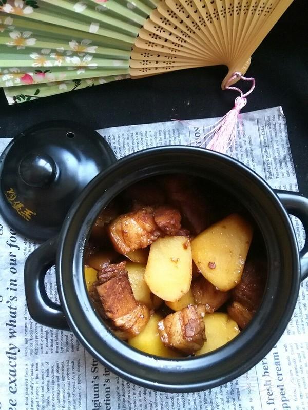 土豆红烧肉怎么吃
