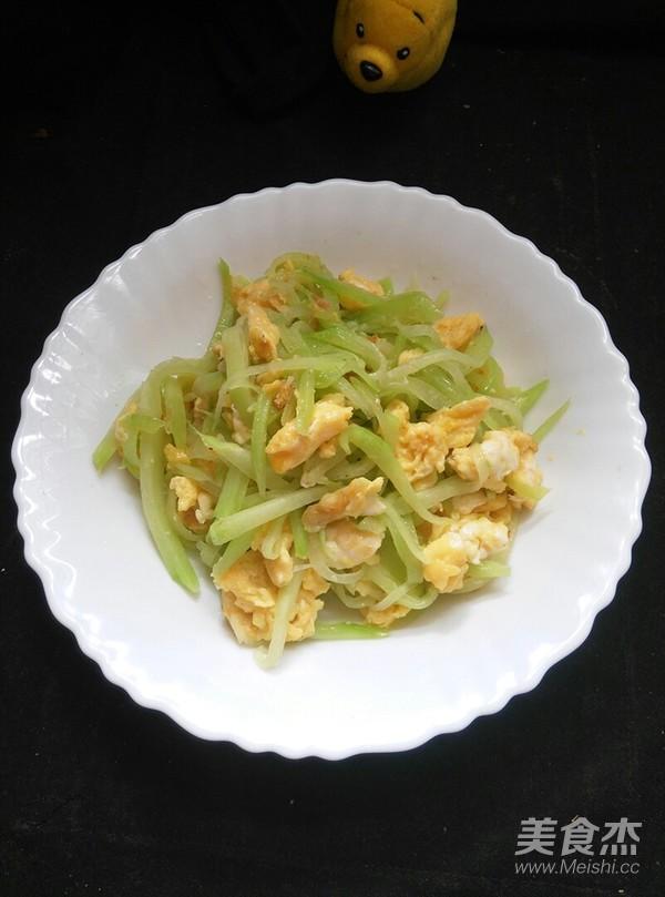 佛手瓜炒蛋怎么煮