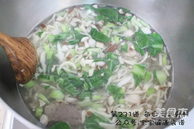 菌菇排骨汤面怎么炖