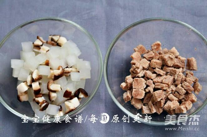 香菇萝卜炖牛腩  宝宝健康食谱怎么炒