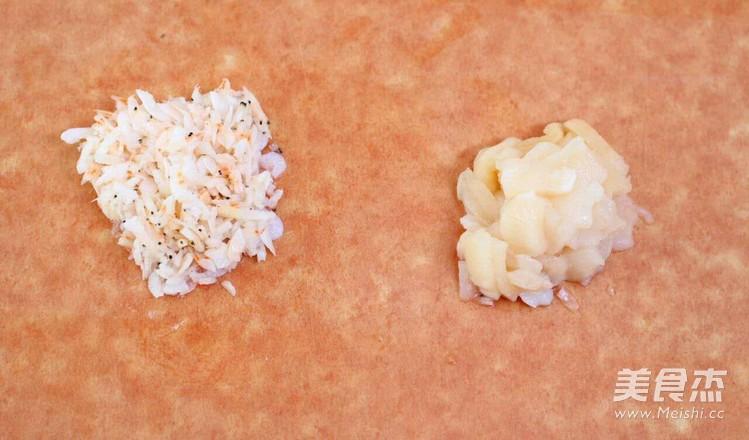 鲜贝萝卜蒸糕  宝宝健康食谱的做法图解