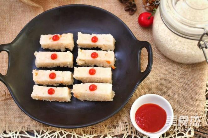 鲜贝萝卜蒸糕  宝宝健康食谱怎样做