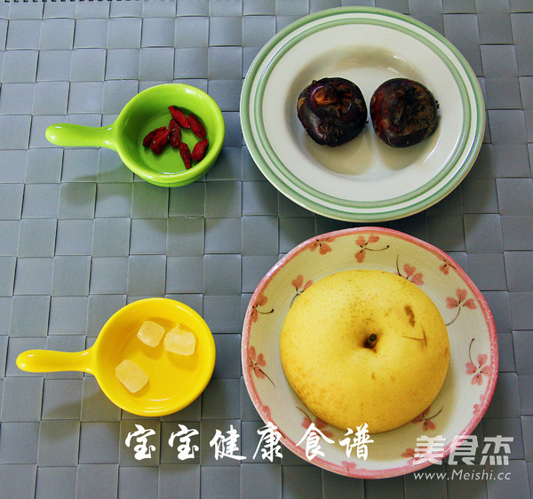 马蹄甜汤  宝宝健康食谱的做法大全