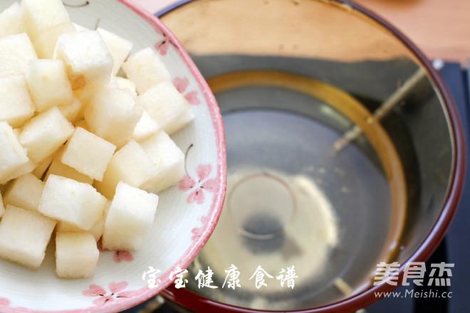 马蹄甜汤  宝宝健康食谱的简单做法
