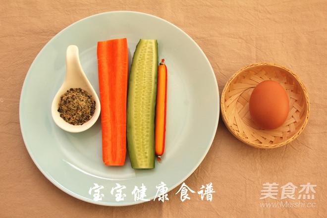 紫菜包饭  宝宝健康食谱的做法大全