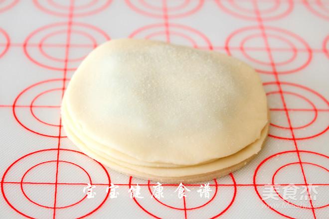 饺子皮葱油饼  宝宝健康食谱怎么吃