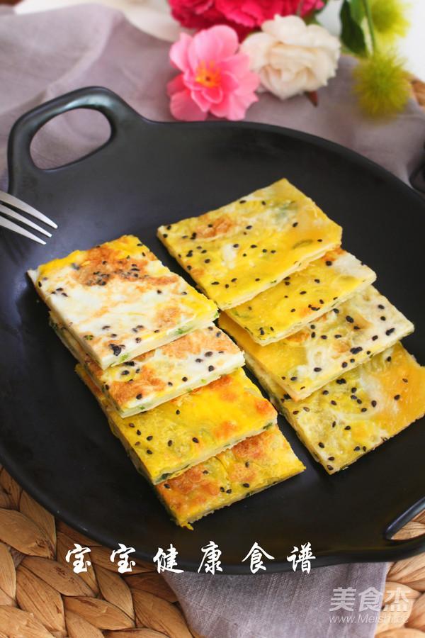 饺子皮葱油饼  宝宝健康食谱成品图