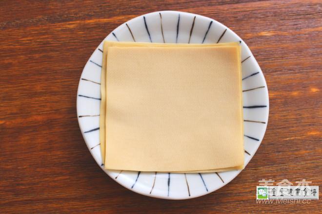香菇猪肉福袋  宝宝健康食谱的家常做法