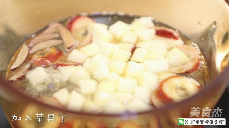 宝宝辅食食谱  山楂苹果开胃汤怎么煮