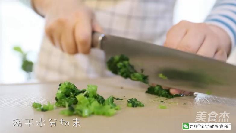 菠菜猪肝粥  宝宝辅食食谱怎么炒