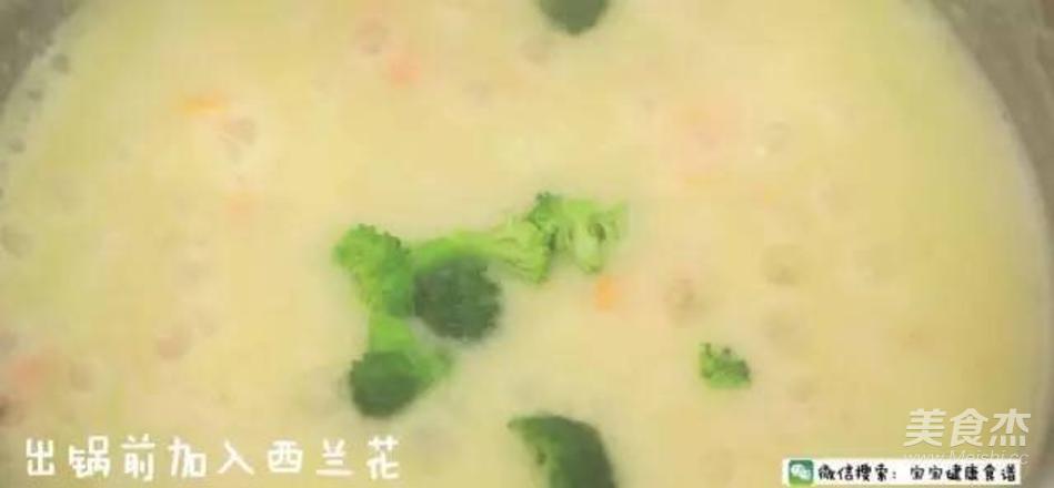 菠菜小米浓汤 宝宝辅食食谱怎样炒