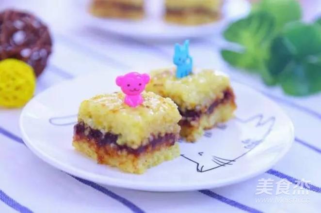 黄米凉糕  宝宝辅食食谱怎样做