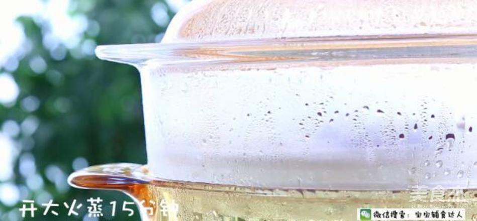 爆浆香芋紫薯饼  宝宝辅食食谱的简单做法