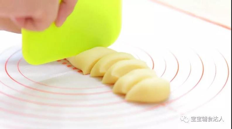 紫薯爆浆芝士仙豆糕 宝宝辅食食谱怎样煸