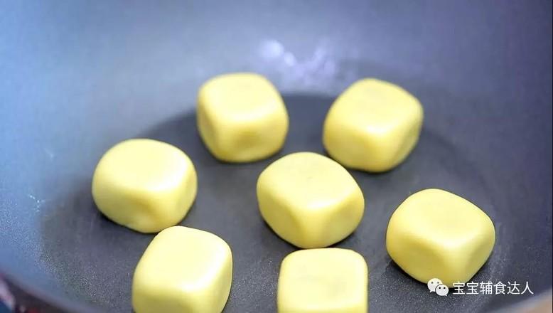 紫薯爆浆芝士仙豆糕 宝宝辅食食谱的制作大全