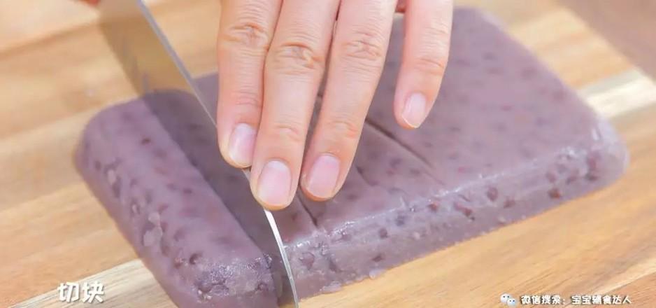 红豆凉糕  宝宝辅食食谱怎样煮