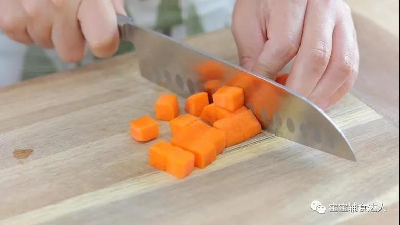 胡萝卜奶圈  宝宝辅食食谱的做法图解