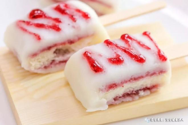 蓝莓山药仿真雪糕  宝宝辅食食谱怎样炒