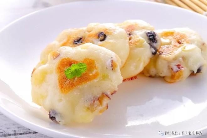 果味大米早餐饼  宝宝辅食食谱的制作