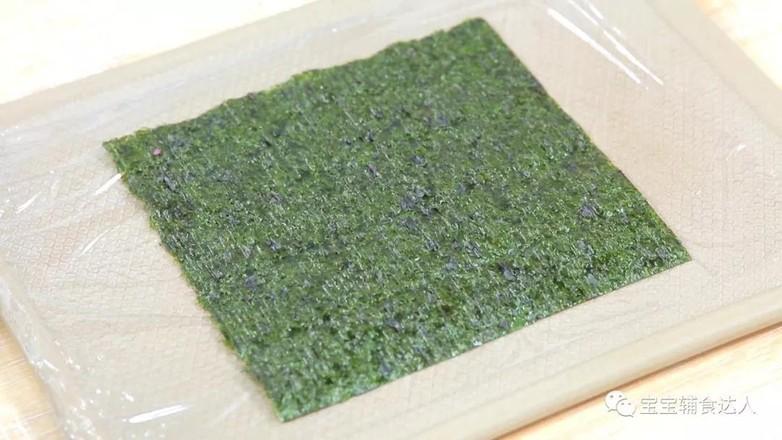 紫米肉松饭团  宝宝辅食食谱的简单做法