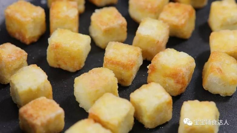 菠萝咕噜豆腐  宝宝辅食食谱怎么炒