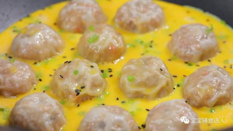 蛋抱米饭团子  宝宝辅食食谱怎样煮