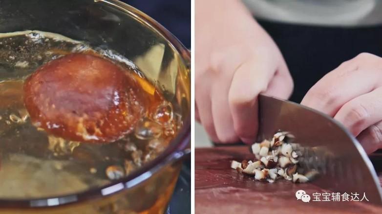 肉末香菇土豆条  宝宝辅食食谱的做法图解