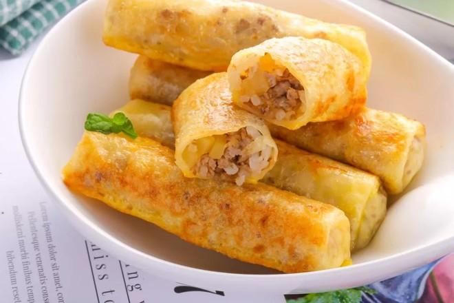 鸡蛋米饭卷  宝宝辅食食谱怎样做
