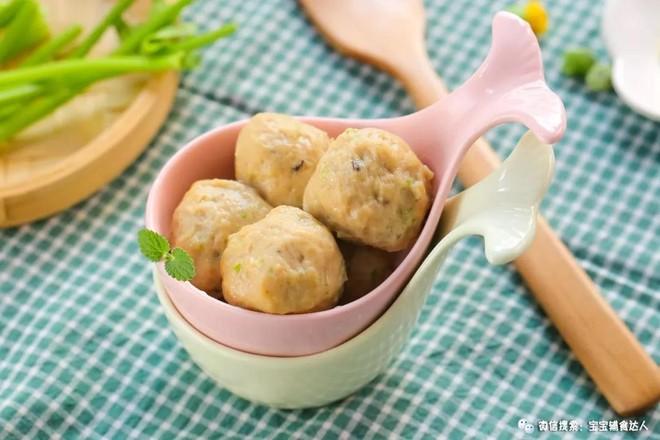 豆腐肉丸子  宝宝辅食食谱怎样煸