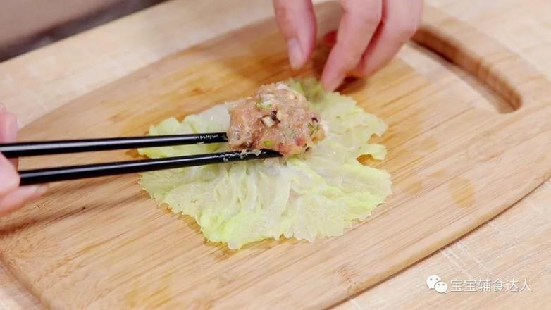 白菜鲜虾卷  宝宝辅食食谱怎么炖