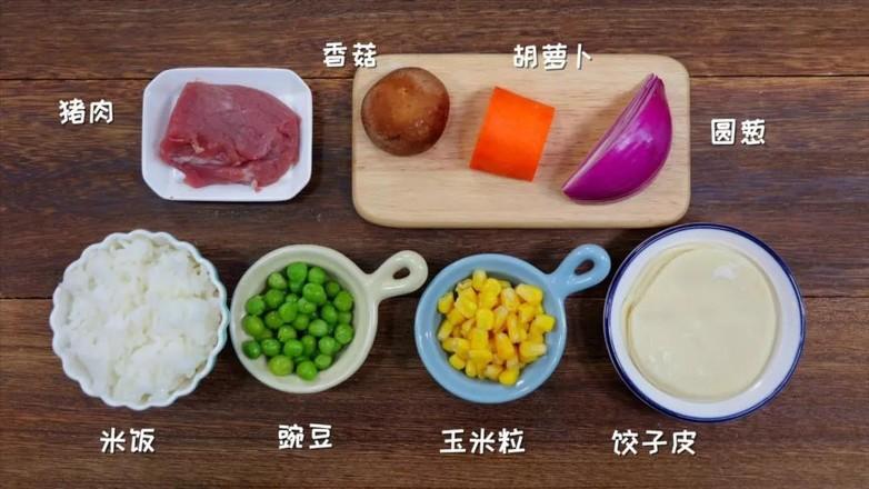 五彩大米卷  宝宝辅食食谱的做法大全
