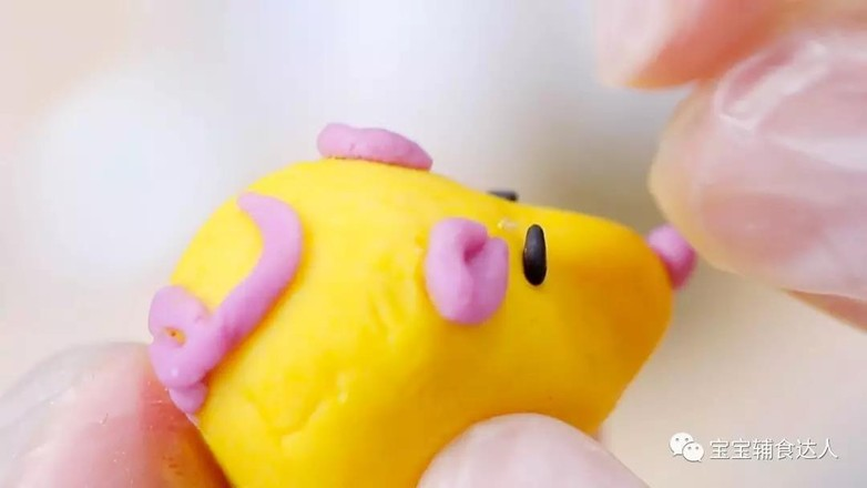 小老鼠汤圆  宝宝辅食食谱怎样煮