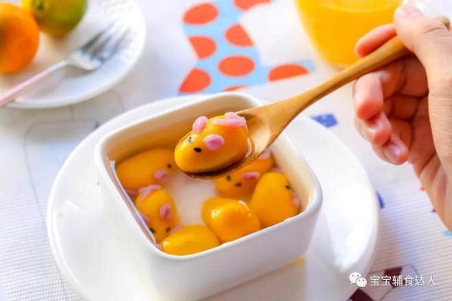 小老鼠汤圆  宝宝辅食食谱的制作
