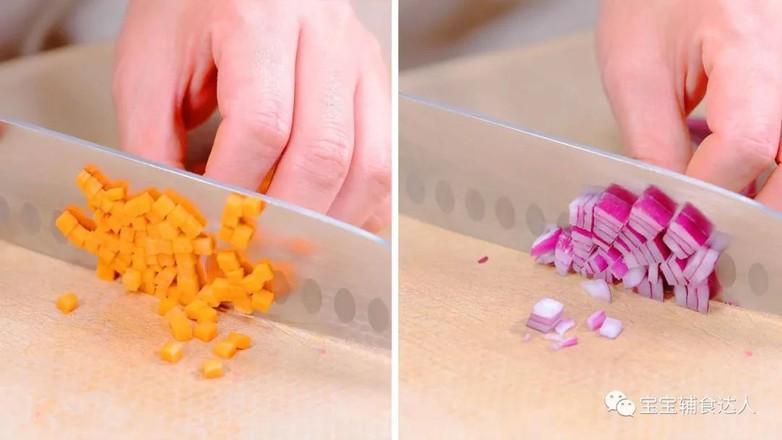 蔬菜早餐饼  宝宝辅食食谱的做法图解