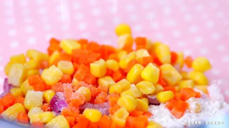 蔬菜早餐饼  宝宝辅食食谱怎么吃