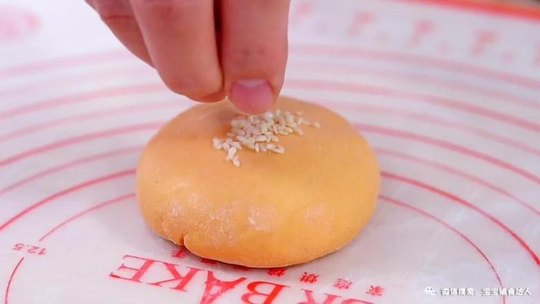 红薯豆沙饼  宝宝辅食食谱怎样煸