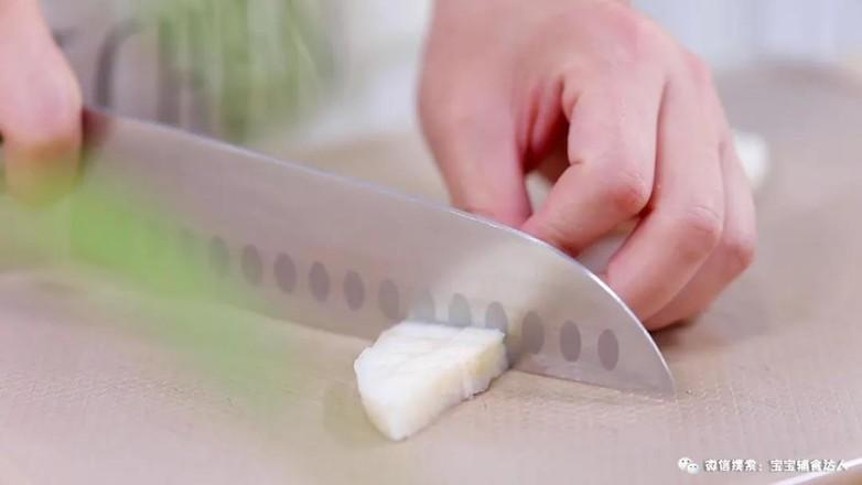 雪梨大米鱼鱼  宝宝辅食食谱的做法图解