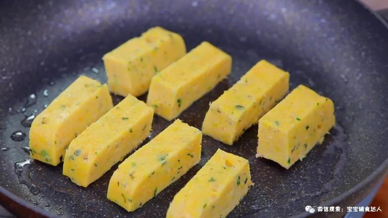 玉米虾条  宝宝辅食食谱怎样炒