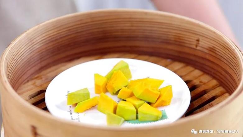 小米南瓜卷  宝宝辅食食谱的做法图解