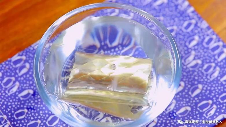 银耳水晶糕  宝宝辅食食谱怎么煮