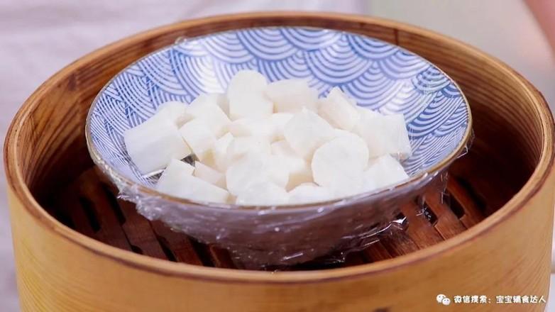 山药红豆糕  宝宝辅食食谱的家常做法