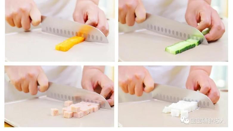 馒头小炒  宝宝辅食食谱的做法图解