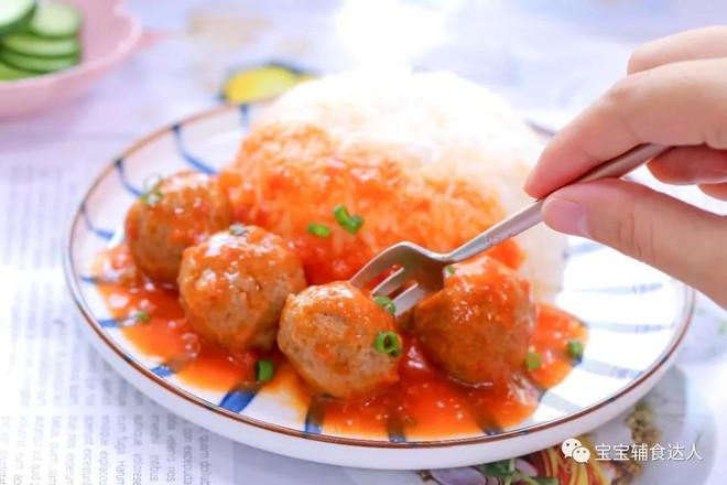 番茄牛肉丸  宝宝辅食食谱怎样做