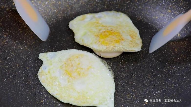 荷包蛋焖面  宝宝辅食食谱的简单做法