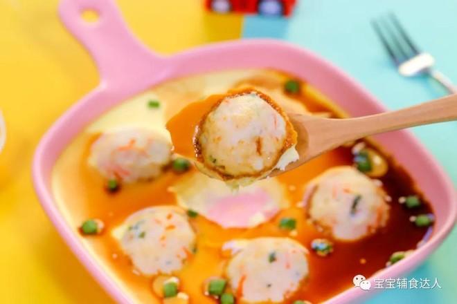虾球蒸蛋  宝宝辅食食谱怎样煮