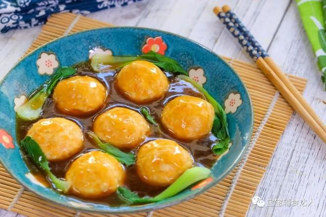 豆腐肉丸子  宝宝辅食食谱怎样煮