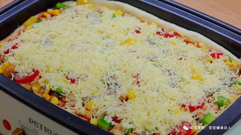 至尊脆底披萨  宝宝辅食食谱的制作方法