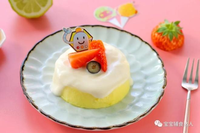 橙香酸奶蛋糕  宝宝辅食食谱怎样做