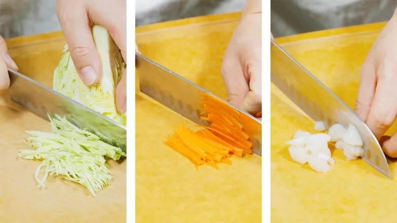 蔬菜团子【宝宝辅食】的做法图解