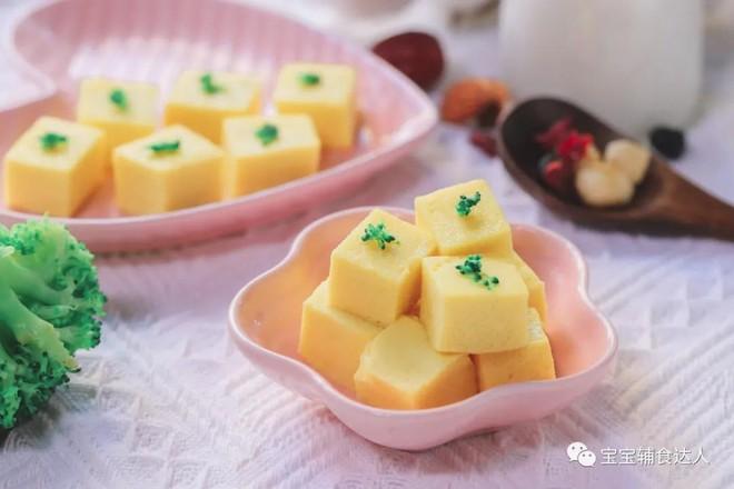 玉米布丁【宝宝辅食】成品图